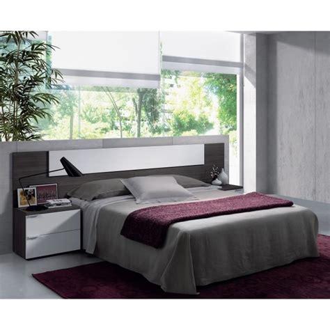 tete de lit chambre adulte tete de lit avec chevet achat vente tete de lit avec