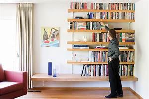 Large, Floating, Books, Wall, Shelf, Donkeytime, Org