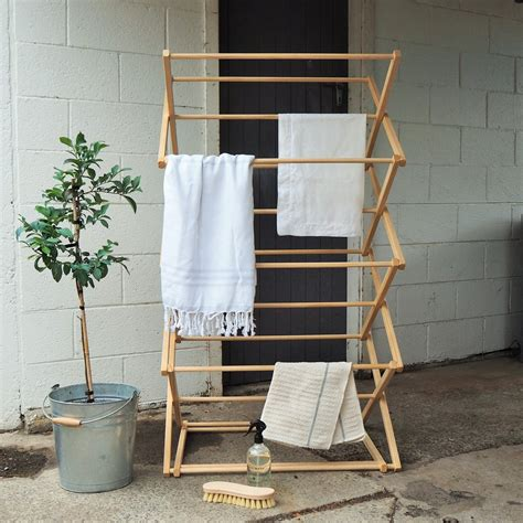 wooden clothes rack wooden clothes drying rack the foxes den