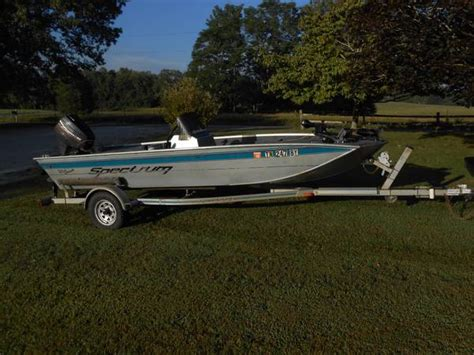 spectrum bass boat for sale