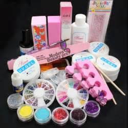 Fotos free shipping mini set nail art tips kit diy