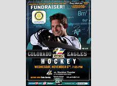 November 6th Hockey Fundraiser Rotary Club of Fort