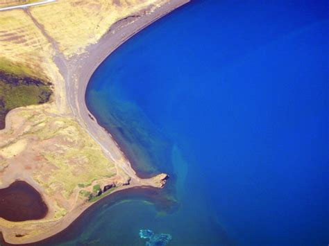 Aerial Shots Of A Turquoise River In Iceland Albatz