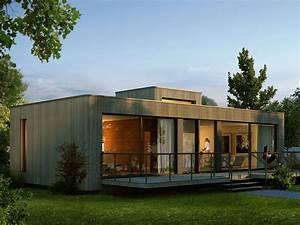 Bungalow Aus Holz : singlehaus designerhaus von palisadio moderner ~ Michelbontemps.com Haus und Dekorationen