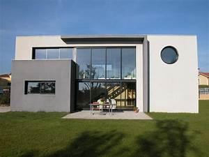 contemporaine facade With facade de maison contemporaine