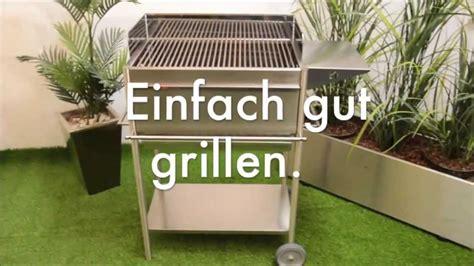 edelstahl grill holzkohle holzkohle grill aus edelstahl premio ein profigrill aus deutscher fertigung