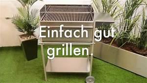 Edelstahl Grill Bauanleitung : holzkohle grill aus edelstahl premio ein profigrill aus deutscher fertigung youtube ~ Sanjose-hotels-ca.com Haus und Dekorationen