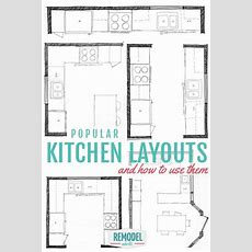 Popular Kitchen Layouts And How To Use Them (remodelaholic