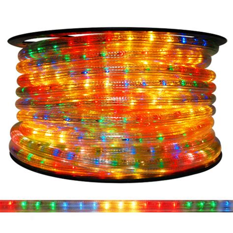 5 8 in multi color chasing rope light cf5 65bgry
