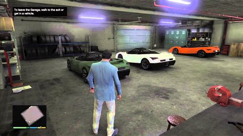 Gta 5 Garage Story Mode by Gta 5 Best Looking Garage On Gta V Cars