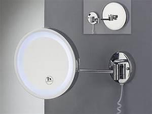 Kosmetikspiegel Led 10 Fach : badspiegel kosmetikspiegel vergr erungsspiegel 5 fach led beleuchtung chrom ebay ~ Bigdaddyawards.com Haus und Dekorationen