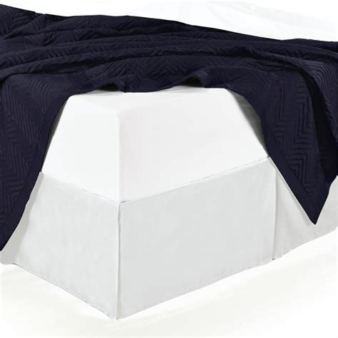 Bed Skirt With Split Corners by Split Corner Cotton Solid 300tc Bed Skirt White