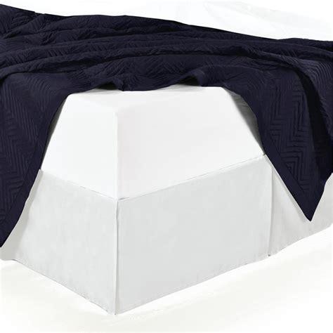 split corner bed skirt split corner cotton solid 300tc bed skirt white
