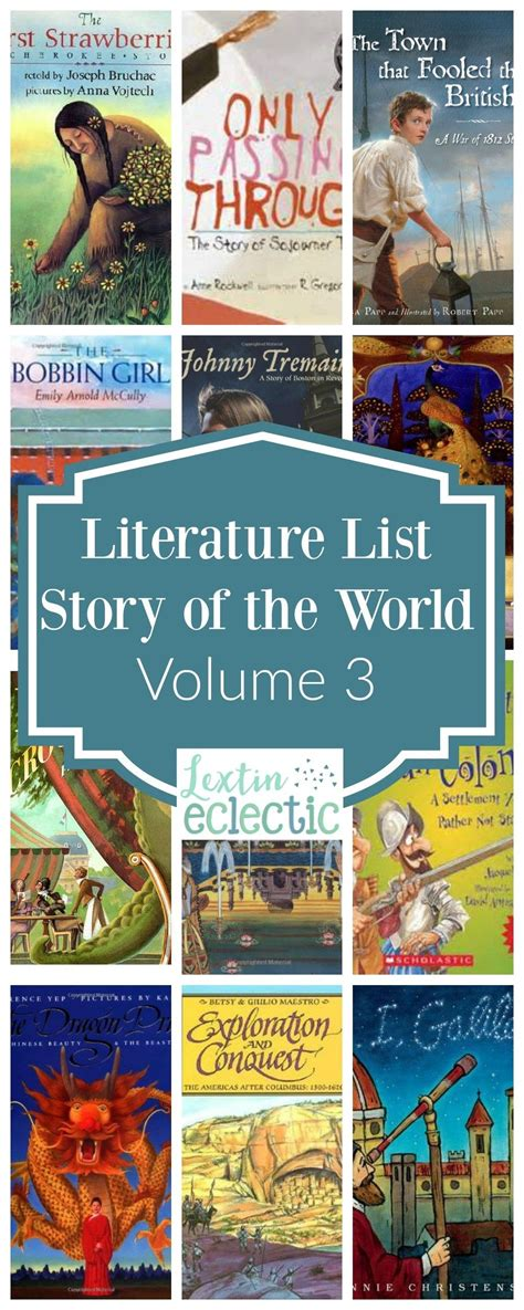Literature List for Story of the World Volume 3