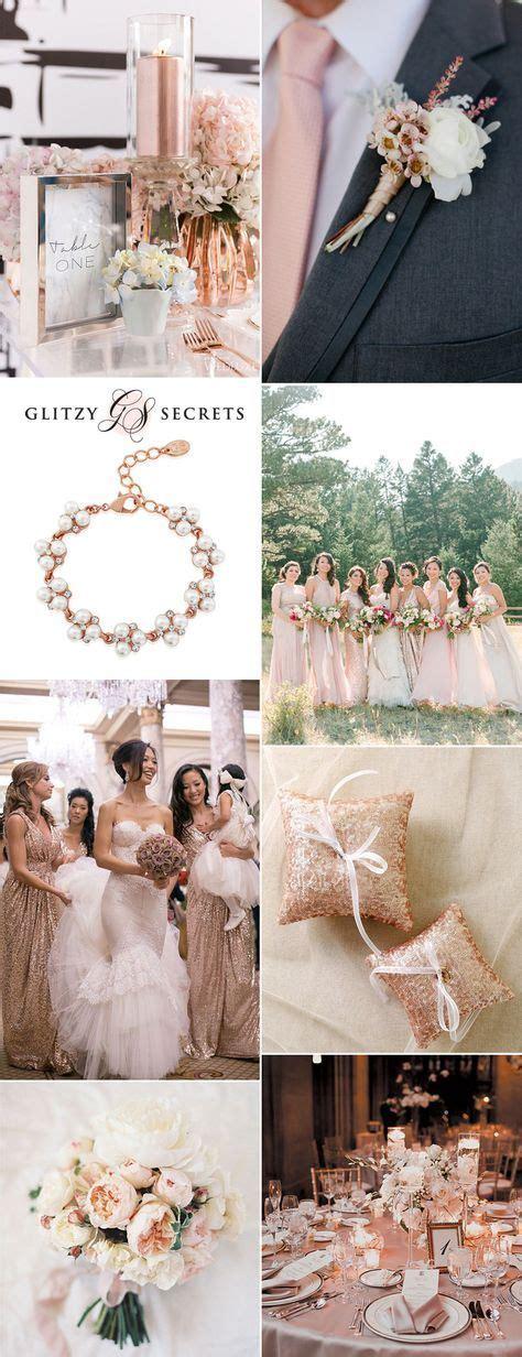 A Pretty Rose Gold & Blush Wedding Theme Wedding ideas