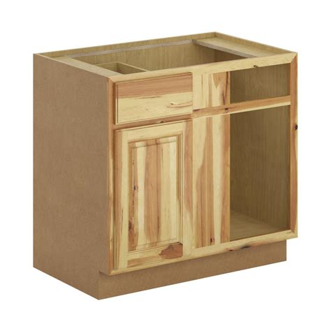 home depot hickory base cabinets hton bay madison assembled 36x34 5x24 in blind corner