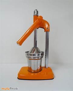 Presse Agrume Manuel A Levier : objet style vintage presse fruits levier orange et chrome mulubrok brocante en ligne ~ Melissatoandfro.com Idées de Décoration