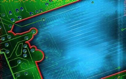 Electronic Desktop Board Circuit Wallpapers Backgrounds Windows
