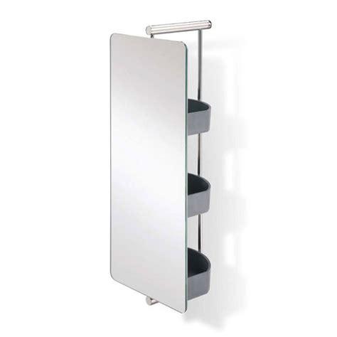 bathroom mirror waldorf polished ss swivel mirror