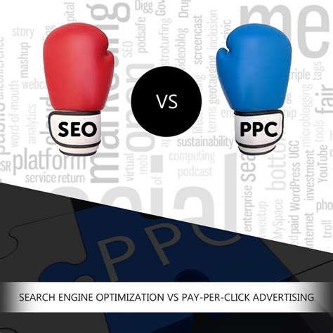 search engine optimization advertising pay per click advertising ppc vs search engine