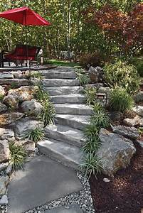 Jardin En Pente Raide : rocaille jardin conseils de construction et photos inspirantes ~ Melissatoandfro.com Idées de Décoration