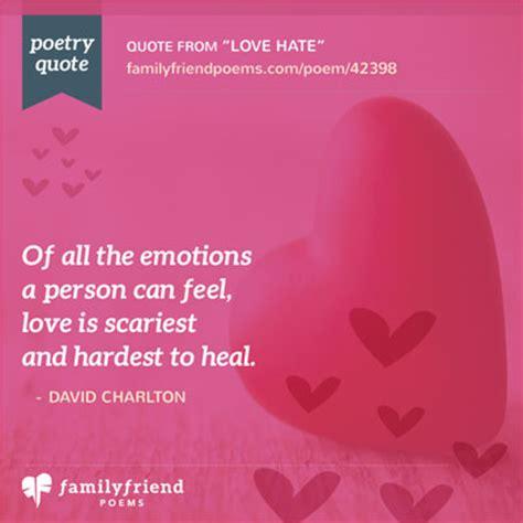 poem   dislike  love love hate