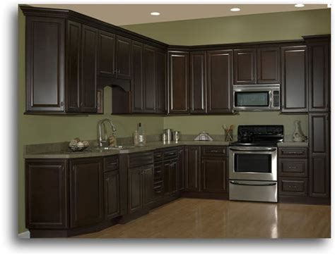pictures of new kitchen cabinets espresso stained cabinets home gt kitchen cabinetry 7480