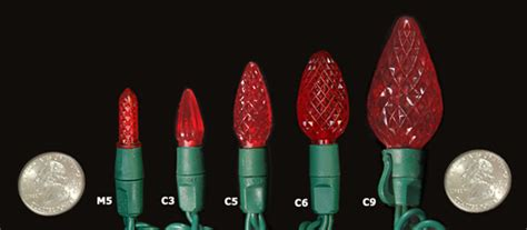 what is the difference between c7 and c9 light bulbs kmart com 50 count led christmas lights only 3 99