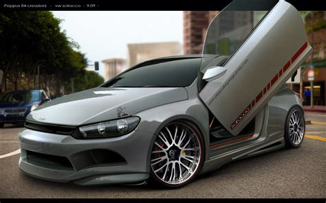 tuning vw scirocco by peppus84 on deviantart
