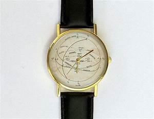 Celestial Sphere Watch  Unisex Watch  Ladies Watch  Men U0026 39 S