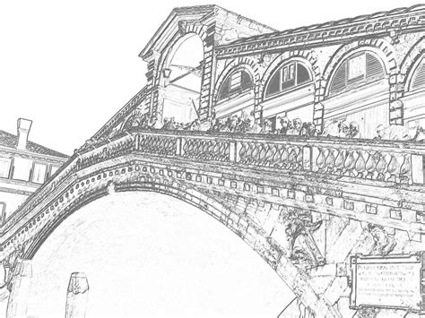 Free Coloring Pages Of Bridges