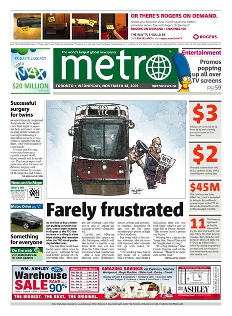 Guelph Politico: Things I Read in Metro Today