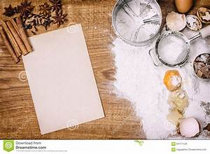 Baking Ingredients And Tools Royalty-Free Stock ...