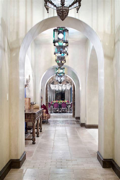 magnificent mediterranean hallway designs  navigate