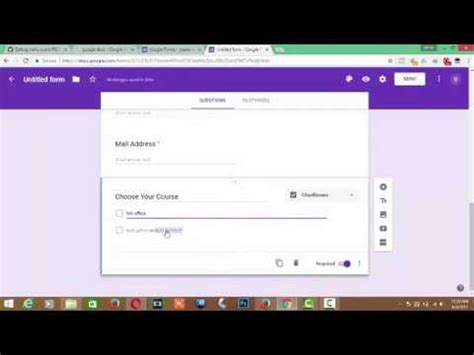 make a free online registration form for your company docs last update youtube