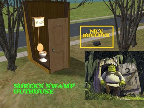 mod  sims shreks swamp