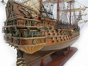 SAN FELIPE Spanish First Rate Ship Model 1690 (28in)