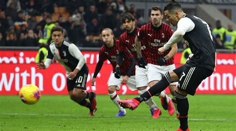 Juventus vs AC Milan, 2019–20 Coppa Italia Semi-Final 2nd ...