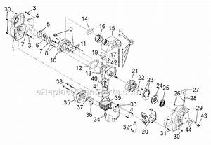 Troy-bilt Tb320bv Parts List And Diagram