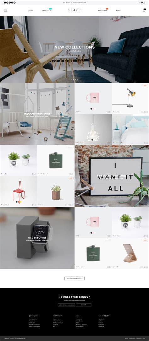 Shopify Themes 5 Best Shopify Premium Themes Collection For Furniture Store