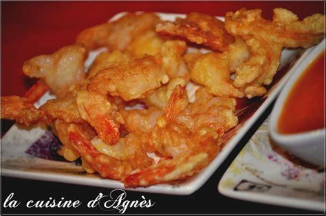 cuisiner les crevettes crevettes frites sauce aigre douce la cuisine d 39 agnèsla cuisine d 39 agnès