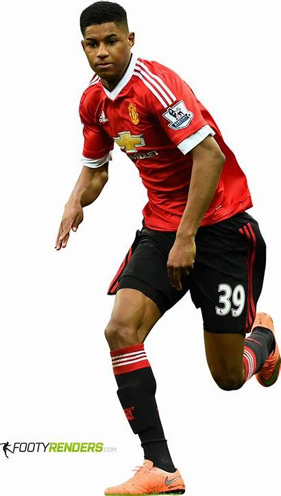 Rashford Marcus Football Player Render Footyrenders Premier