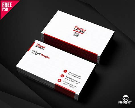 simple business card psd template psddaddycom