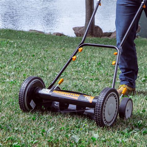 remington  reel push mower  ebay