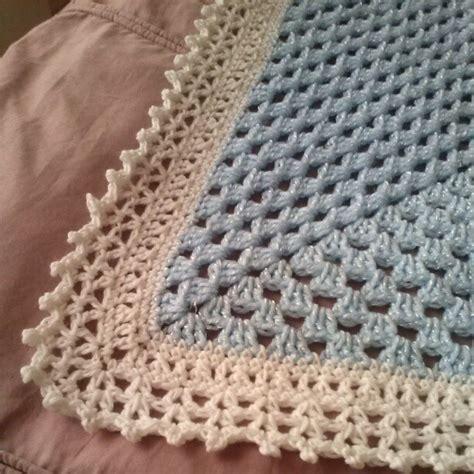 crochet edging afghan blanket edging free pattern crochet things i create pinterest afghans free