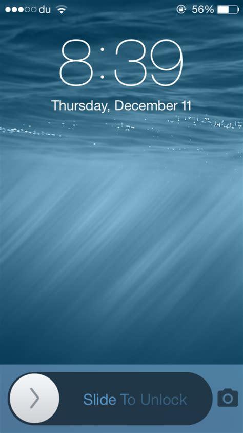 unlock iphone screen blurslide 2 brings back slide to unlock slider to ios 8