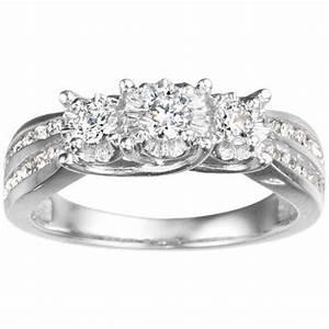 White Gold Wedding Rings For Women Cheap Fashion Female