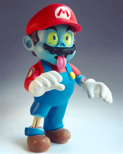 Zombie Mario By Luaiso Lopez X Pobber The Toy Chronicle