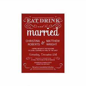 rustic eat drink be married crimson red wedding With crimson red wedding invitations