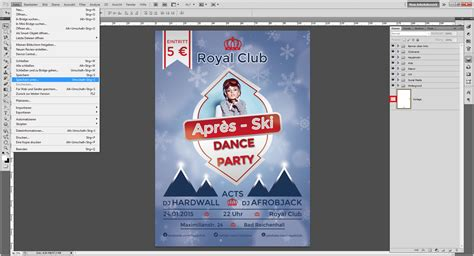 tutorial apres ski flyer gestalten saxoprint blog